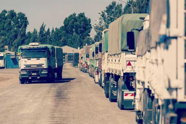 Camiones de cereales